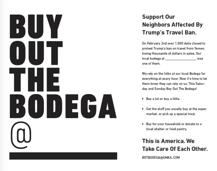 Buy Out The Bodega