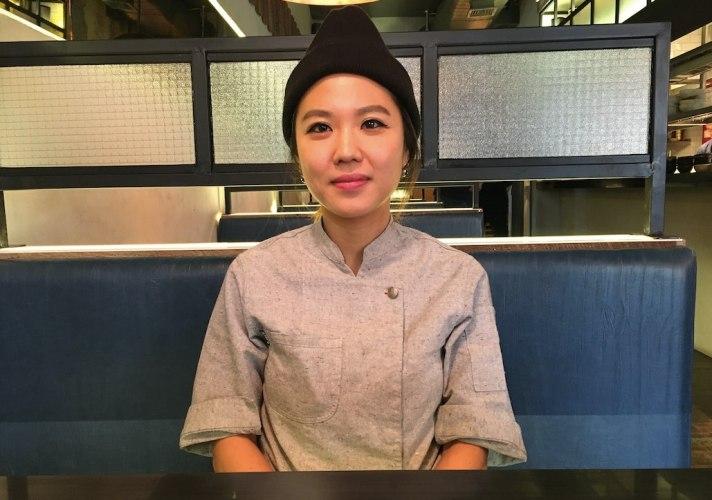 Esther Choi of mŏkbar
