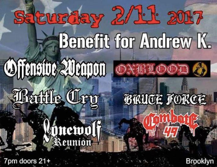 United Riot Records fundraiser